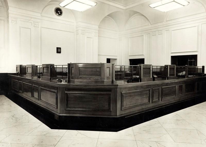 banking hall
